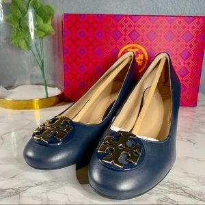 Tory Burch Janey 50MM Pump Calf Leather